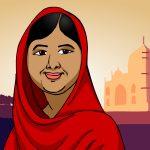 Malala é Nobel da Paz lutando pela educação