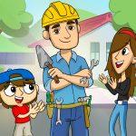 Construção, instalação e limpeza