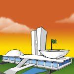 Passatempo: palácio do Congresso Nacional