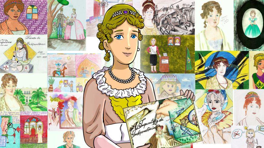 Galeria de desenhos Dona Leopoldina