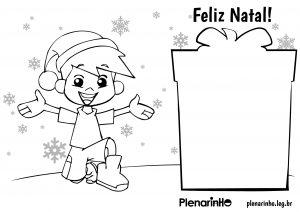Cartão de Feliz Natal do Plenarinho