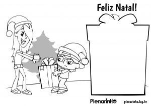 Cartão de Natal do Plenarinho