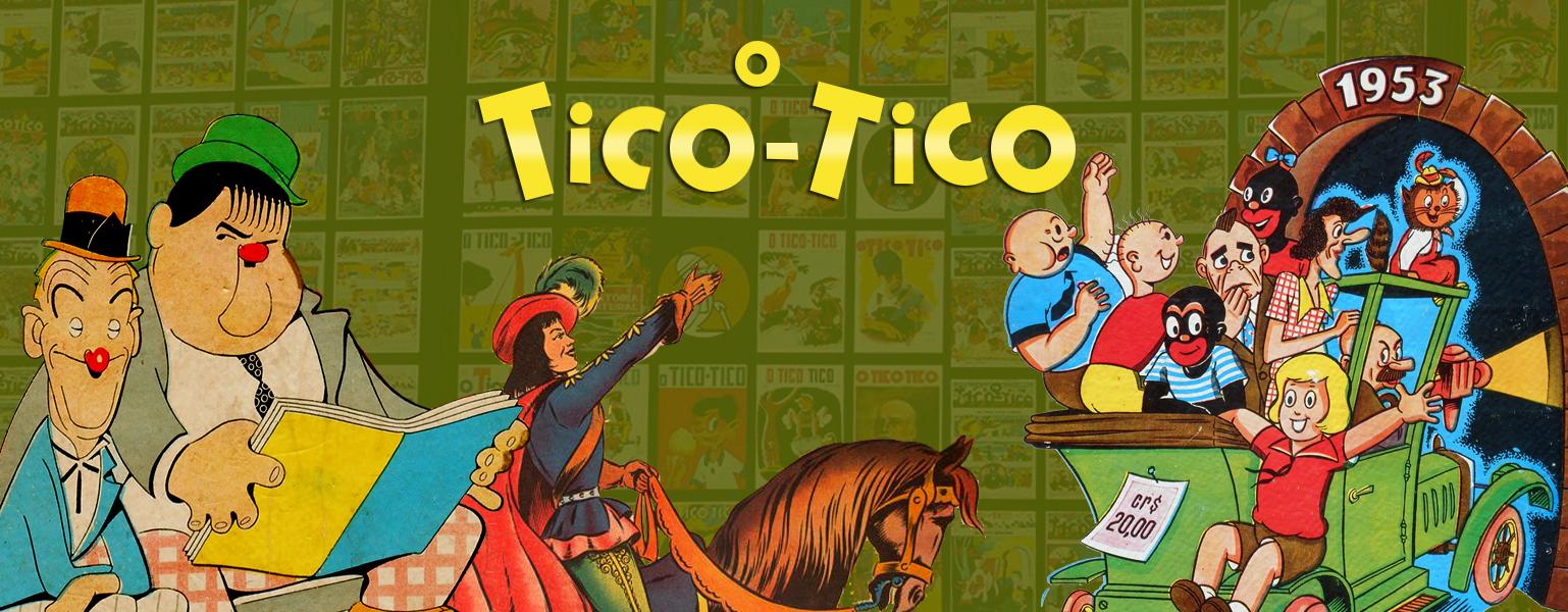 Revista em Quadrinhos O Tico-tico