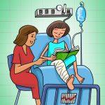Alunos internados têm direito à educação hospitalar