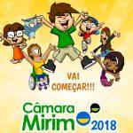 Câmara Mirim 2018 começa hoje!