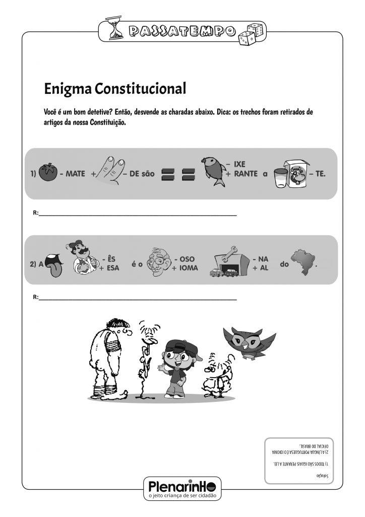 Enigma constitucional