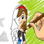 Passatempo: Pintar a Cida