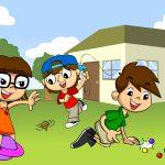 Três brincadeiras para se fazer fora de casa