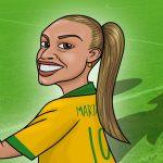 Marta, a camisa 10