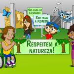 Crianças vêm à Câmara em defesa da Amazônia