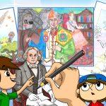 Desenhos do concurso sobre José Bonifácio