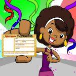 Carteirinha de identificação para as crianças no Carnaval