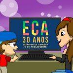 Ato virtual – ECA 30 anos: Uma luta histórica em defesa das crianças e adolescentes