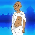 """""""Mahatma"""" Gandhi"""